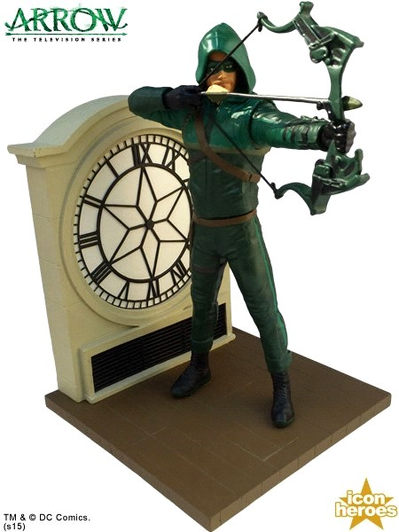 Icon Heroes DC Comics Arrow TV Series Season 2 Statue Bookend